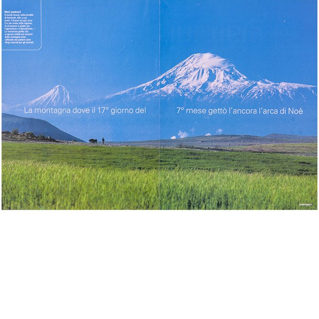 Ararat Mountain view from Armenian border